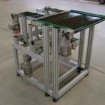 Estruturas e esteiras em perfis de alumínio